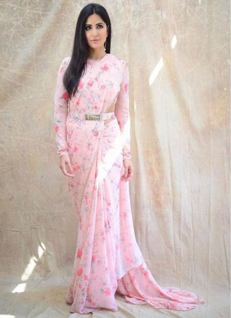 Saree For Tall And Slim Body