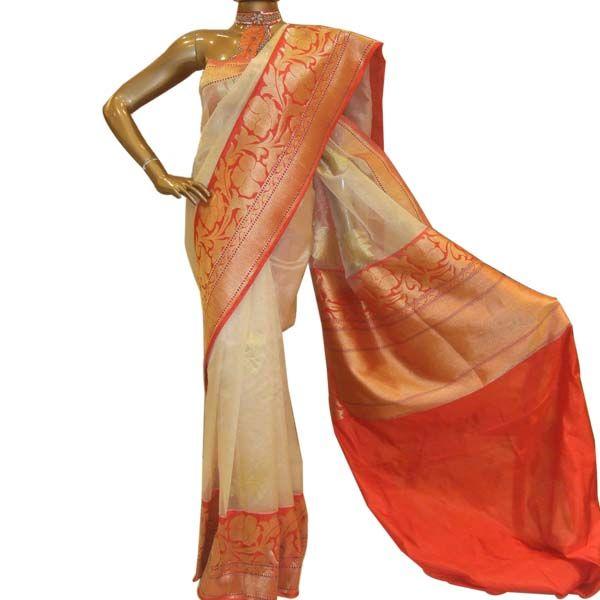 Tissue Banarasi sarees