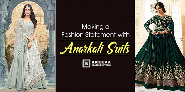 Style with Anarkali suits