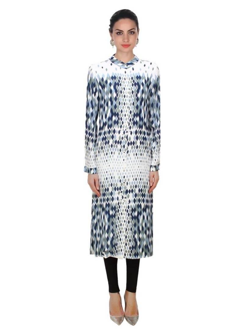 kurti design pattern and style