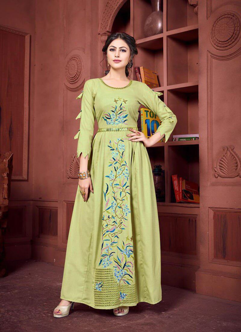 new sleeves Kurti design