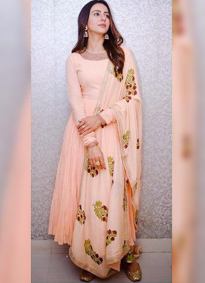 Anarkali churidar suits for weddings