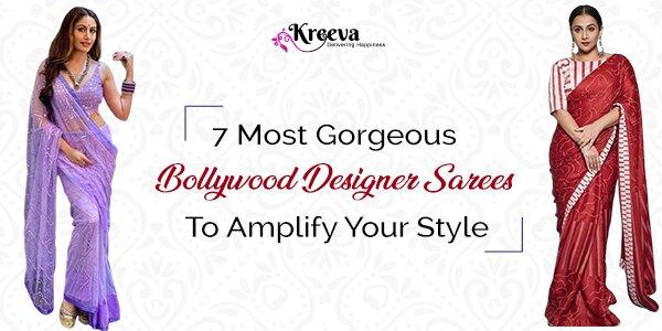 Trendiest And Gorgeous Bollywood Designer Sarees