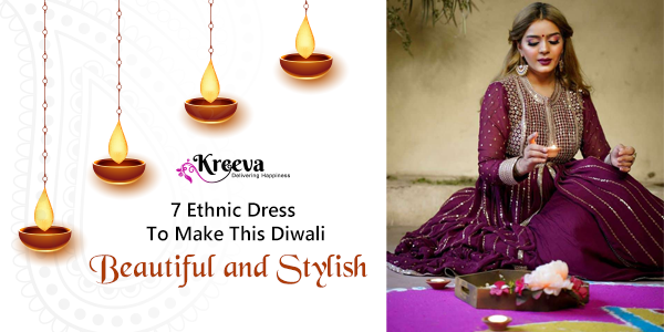 Ethnic Dress for This Diwali