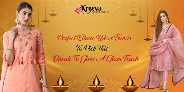 Diwali Ethnic wear Trend