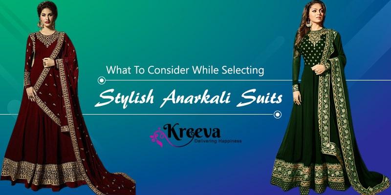 Stylish Anarkali Suits For Wedding
