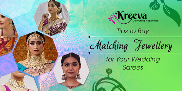 Matching Jewellery for Your Wedding Sarees