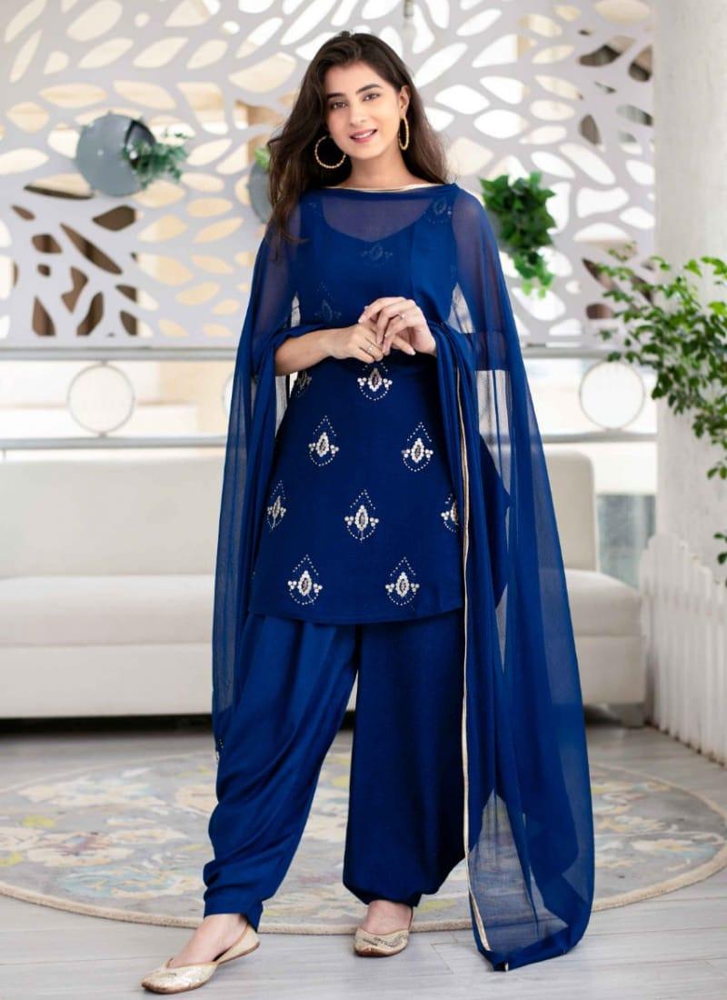 Stylish Patiala Salwar Suit