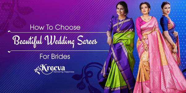 Wedding Sarees For Brides