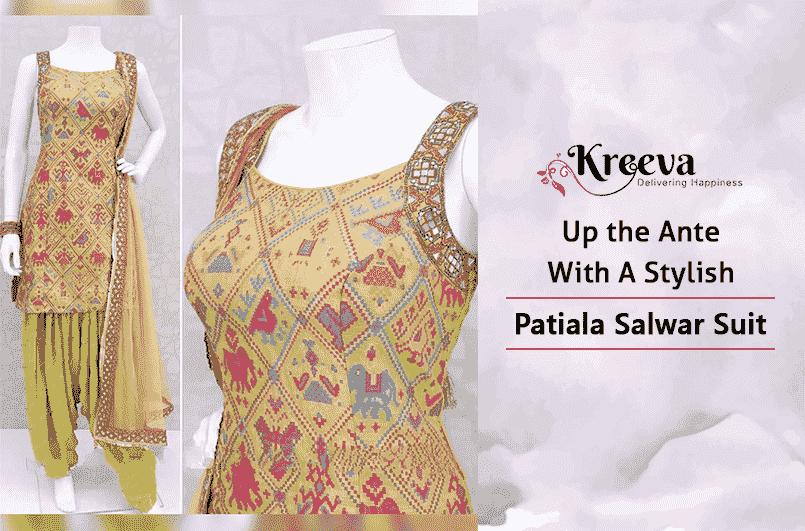 Stylish Patiala Salwar