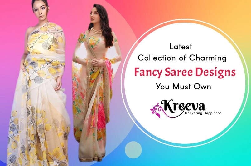 Charming Fancy Saree Designs