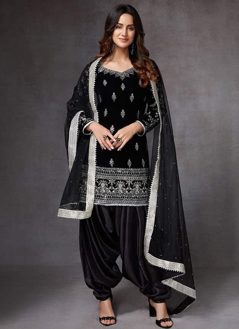 Stylish Patiala Suit Design