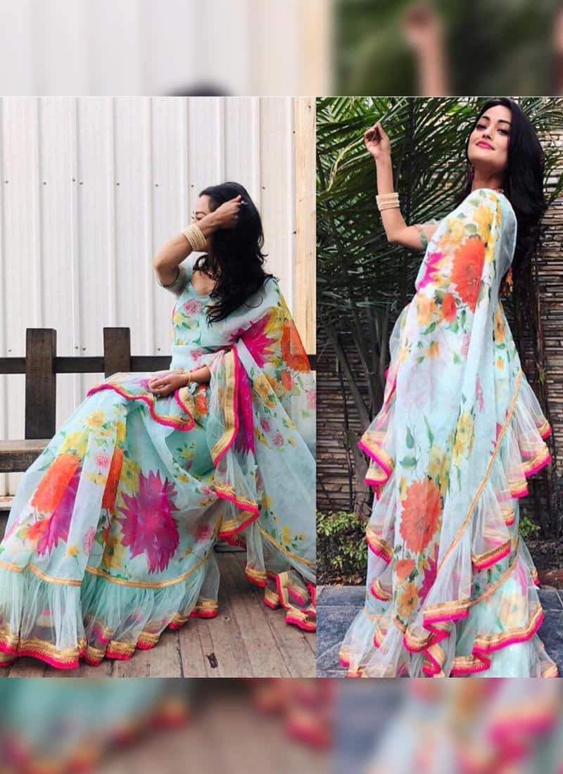 Tie-Dyed Sarees