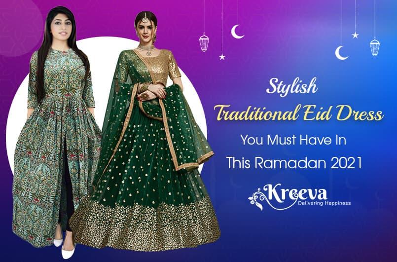 Stylish Traditional Eid Dress