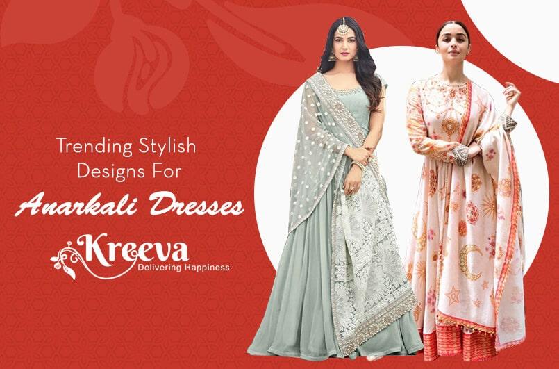 Stylish Designs For Anarkali Dresses