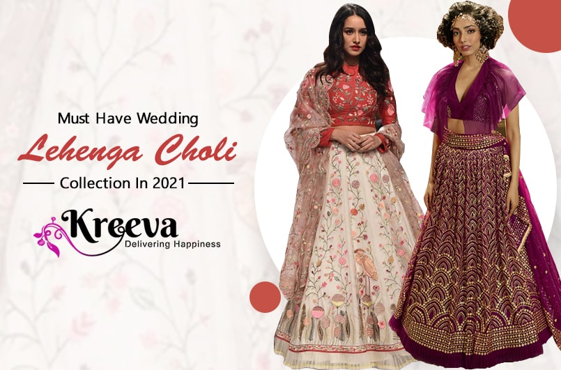 Wedding Lehenga Choli Collection In 2021