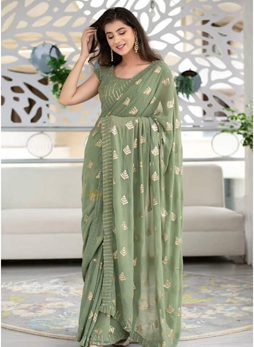Georgette Sarees Party Wear