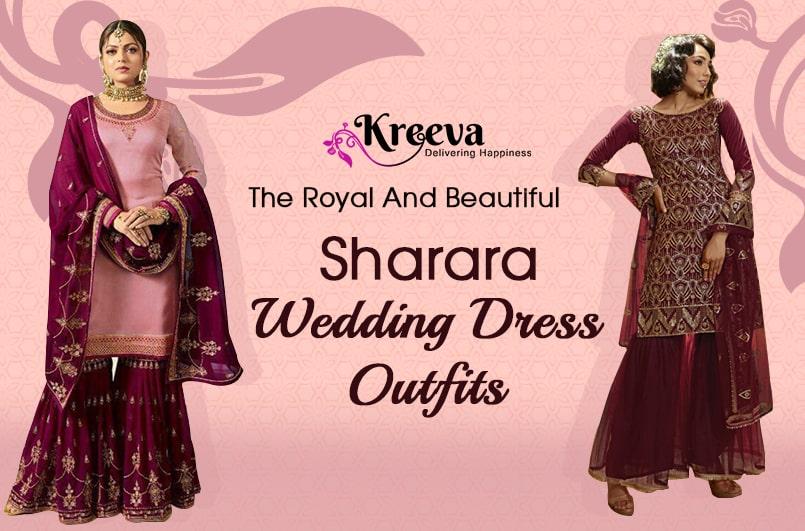 Beautiful Sharara Wedding Dress Outfits