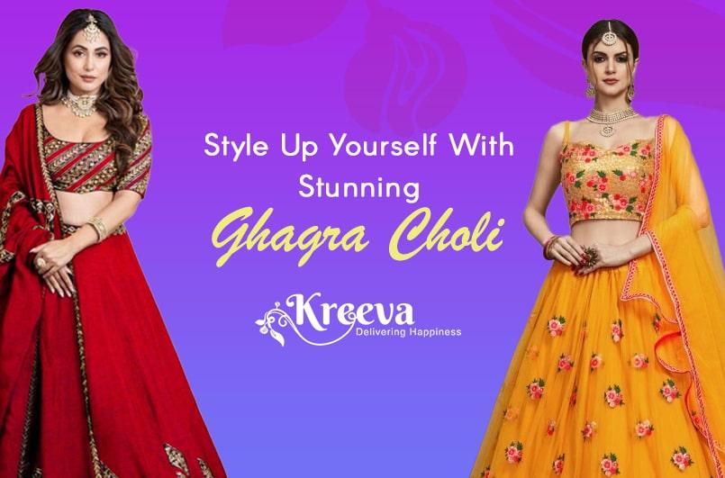 Best Ghagra Choli Designs