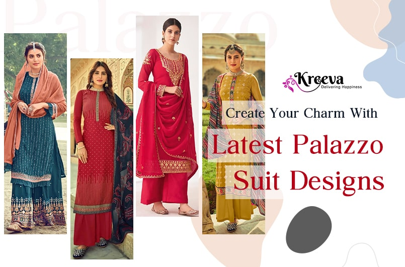 Create Your Charm With Latest Palazzo Suit Designs