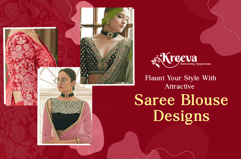 Style With Attractive Saree Blouse Designs