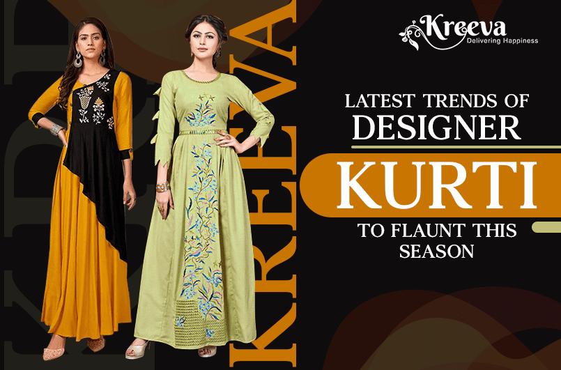 Trends Of Designer Kurti