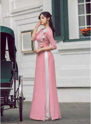 Pink Zari And Georgette Palazzo Salwar Suit