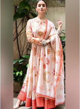 Party Wear Designer Digital Printed Salwar Kameez Suit